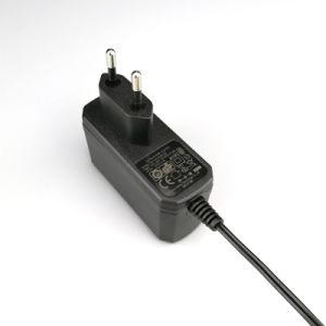Plastikder schaltungs-12V Wechselstrom-Gleichstrom-Adapter Stromversorgungen-Cer GS-UL-kc PSE aufgeführter 12V 1A 12W