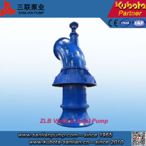 Zlb Serien-vertikale versenkte Strömung-Pumpe