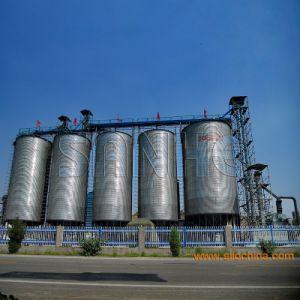 Armazenamento de Grãos galvanizados a quente Silo de aço na China