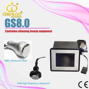 Mini portable de réduction de la Cellulite ultrasons avec Cavitation système Fat beauté Slimming Machine (GS8.0)