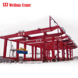 De Fabrikant van China Top1 van Kraan de Met rubberbanden van de Brug (RTG)