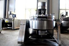 Stir dell'acciaio inossidabile che cucina friggendo POT con il riscaldamento di elettromagnetismo del vapore/Electirc/