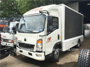 トラックを広告する4X2 HOWO P8 LED