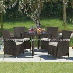 Mobiliário de exterior pátio com jardim Wicker / verga PCS 5 Sofá Definido