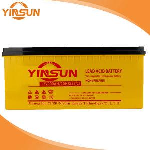 12V200Ah batería solar para el sistema de Energía Solar