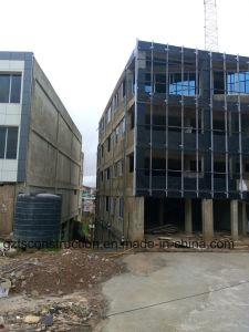 Видимые рамы со стеклянным фасадом наружной стены
