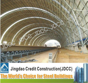 La construcción de la estructura de varillas de acero de construcción