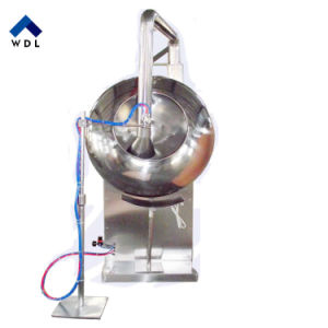 Chufaによって形づけられる糖衣をかける混合の磨く機械