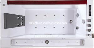 Bañera Spa Masaje de acrílico con una cómoda almohada (TLP-675)