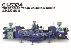 Пластиковый ПВХ Three-Color верхний/ единственной машине литьевого формования
