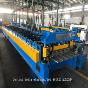 Китай производитель Dixin цвет/оцинкованной стали и штучных кровельных листов формовочная машина стойки стабилизатора поперечной устойчивости