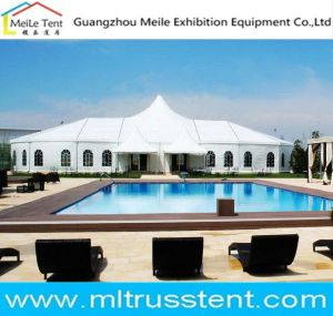 De waterdichte Tent van de Gebeurtenis van het Frame van het Aluminium van de Partij van pvc Openlucht 15X40m Grote