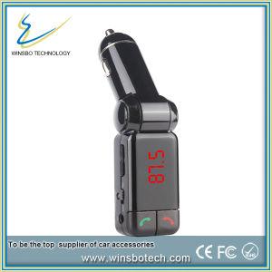 Kit para coche Bluetooth Reproductor de MP3 de doble cargador USB transmisor FM