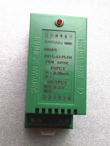 Pidの高い現在の出力のシグナルによって隔離されるアンプDIN1X1 ISO L-U2-P1-O5
