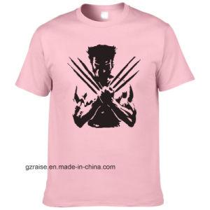 (42 цветов) оптовой Custom дешево футболка с логотипом печати