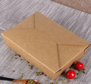 عالة مستهلكة يطبع [كرفت ببر] [فست فوود] يعبّئ صندوق
