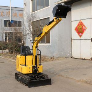 Escavatore poco costoso del cingolo 1.0t della Cina mini
