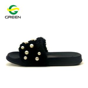 Les femmes Diapositive pantoufles Lady Fashion sandales sangle de l'EDTR Slipper