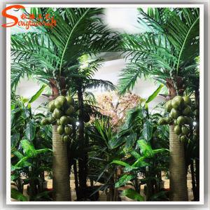 Palm van de Kokosnoot van de Decoratie van de Leverancier van China de Binnen Kunstmatige