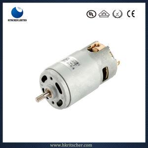 24V DC Motor PMDC pulido para Cortapelos/verduras arandela/máquina expendedora con EMC