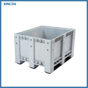 Switches empilháveis reutilizáveis da indústria grande caixa de paletes plásticos com tampa