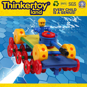 DIY Mini jouet en plastique du robot de l'éducation des enfants Jouets Bloc de construction
