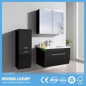 MDF LED Golden solide Code Radiance européenne tiroir double Salle de bains meubles inférieur de porte