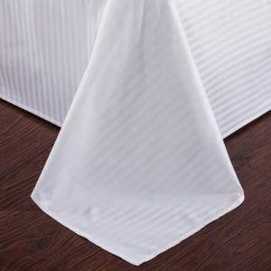 熱い1cm販売の100%年の綿の寝具の縞様式のホテルの寝具セット(JRD784)