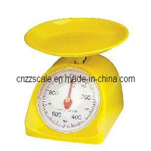 bilancia della cucina 5kg della cucina di plastica della scala (ZZSP-201)