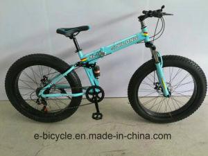 折る6つのカラー脂肪質のタイヤの雪の自転車