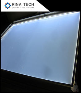 Piatto di guida acrilico del comitato della guida della lampadina dell'affissione a cristalli liquidi