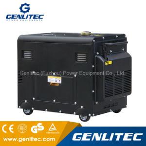 5 квт с водяным охлаждением воздуха портативный Silent дизельного генератора с цифровой панели управления