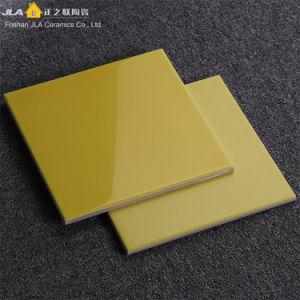 Het gele 8X8inch/20X20cm AntislipHout kijkt de Matte Tegel van de Tegel van het Porselein