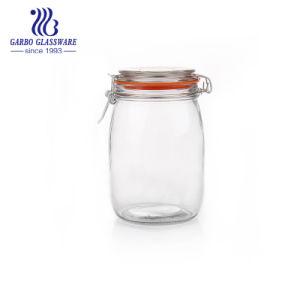 [1ل] زجاجيّة تخزين عليبة مع يقفل غطاء ([غب21641000])