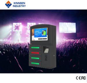 Intelligenter kundenspezifischer Münzen4 Schließfach-beweglicher Ladung-Kiosk
