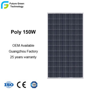 150W 18V Marco High-Tech módulo solar de luz LED
