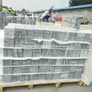 新製品のテラスの庭の通路の私道の舗装のための灰色の花こう岩の立方体の石