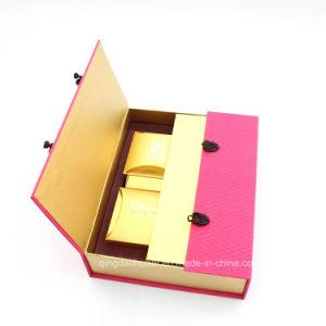الصين صاحب مصنع عادة رفاهية ورق مقوّى صندوق صلبة [هندمد] زخرفيّة ورقيّة يعبّئ هبة [موونكك] صندوق