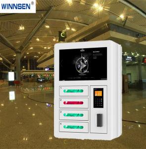 異なった言語Uiの空港料金のキオスクをロック解除する指紋