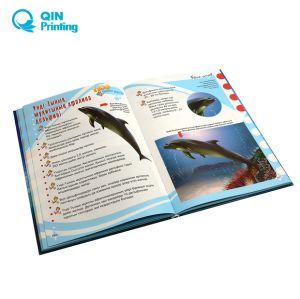 Livre imprimé en couleur personnalisée