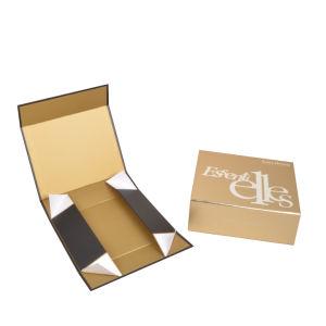 Het Vakje van de Gift van het Document van de Verpakking van het Ontwerp van de fabriek voor het GezichtsDessert van Schoonheidsmiddelen