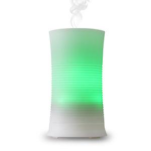 El plástico Aceite Esencial de aromaterapia ultrasónico nebulizador difusor