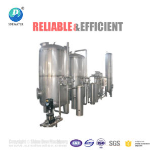 水処理か天然水の生産ライン