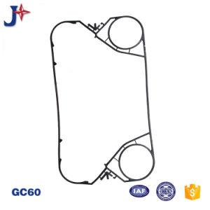 Tranter Gc8/Gc26/Gc60のガスケット/ゴム製シールのための優秀な硬度の強さの版の熱交換器のガスケット