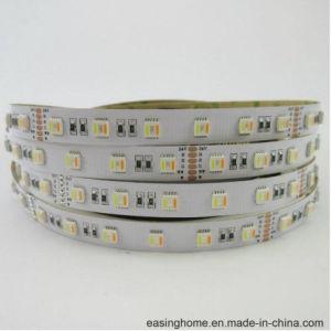 5050SMD 120 Degré Beam Angle RGB+W+W (RGB+TDC) 60LED Haute luminosité/M Bande LED pour LED feux néon souple Flex