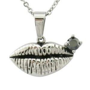 Pendente de lábios mulheres jóias Fashion Jewellry sexo