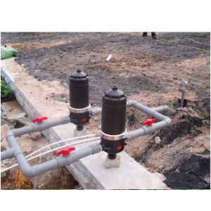 Sistema de riego agrícola La agricultura de material plástico Filtro de agua