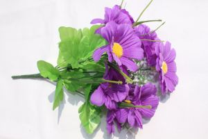 人工花のホーム装飾のための絹のヒナギクの偽造品の花