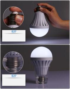 Lâmpada da bateria de Bulbsechargeable da luz Emergency do diodo emissor de luz do bulbo do diodo emissor de luz