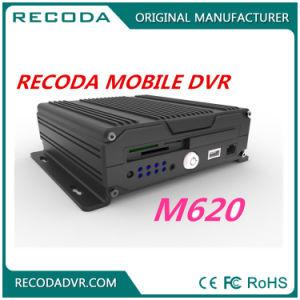 4 hohes Definition-Auto DVR Kanal CCTV-3G GPS WiFi 1080P befestigt für Schulbus-LKW